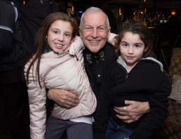 Rob with two of his grandchildren